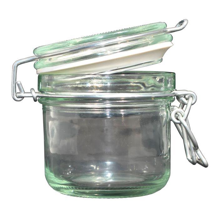 sklen.zavař. 0,2l DZK-dóza sklo  d8x9cm patentní