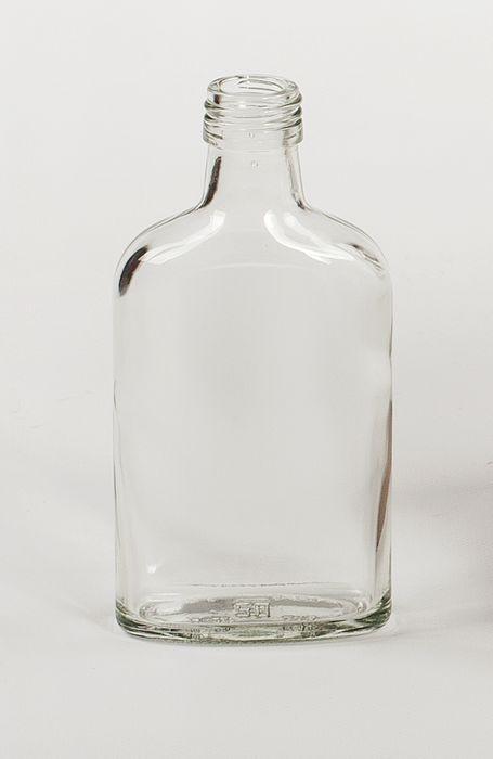 láhev 0,2 l PLACATKA, šroubení, sklo