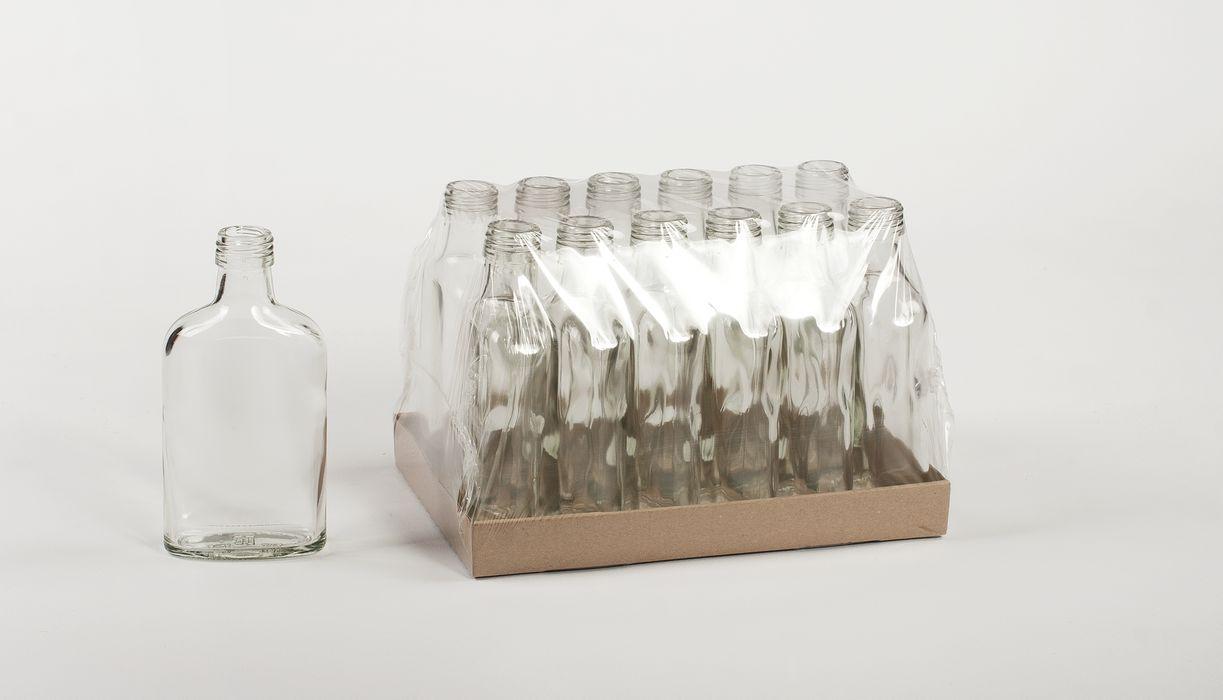 láhev 0,2l-12ks-PLACATKA, šroubení, sklo