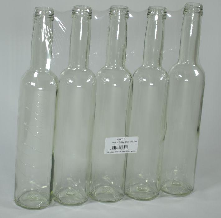 láhev 0,35l- 5ks, Ejliker Alko, sklo