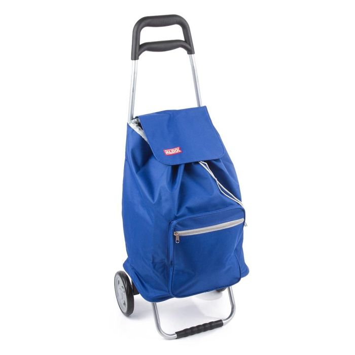 taška s kolečky, CARGO ALDO, modrá/černá, kov.rám