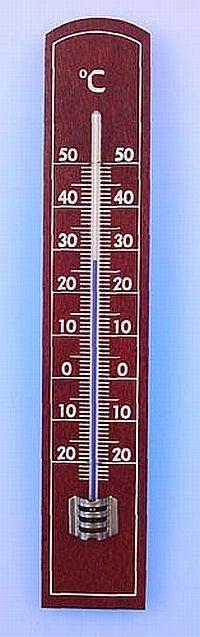teploměr pokoj.20x3,5,dřevo MIX(-20°+50°C)