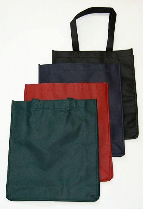 taška nákupní, 36x32x10cm, MIX barev, textil