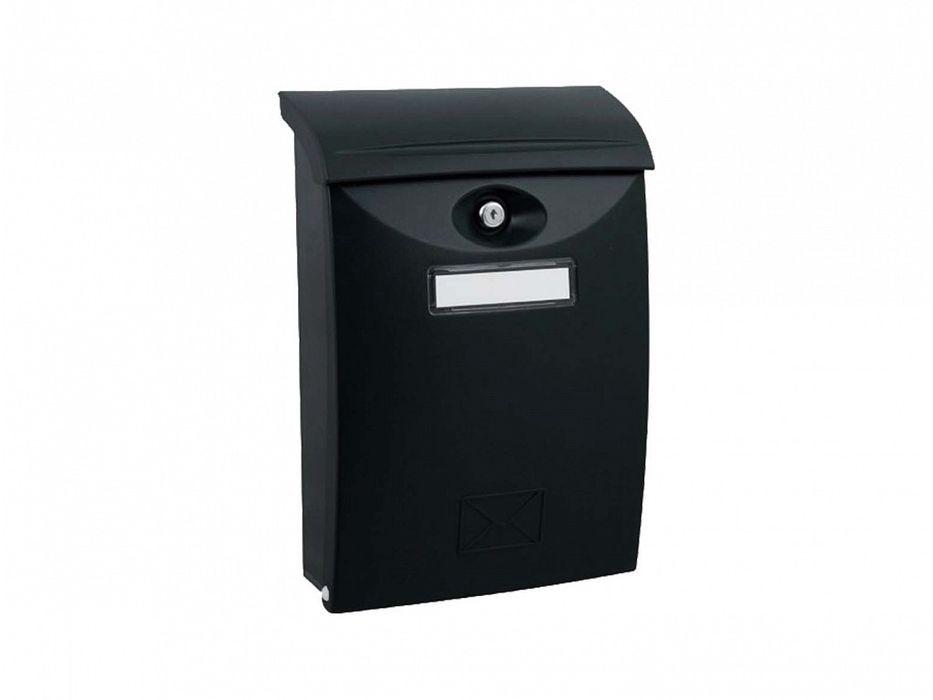 schránka ABS černá pošt. 24x34,x10,2cm, plast