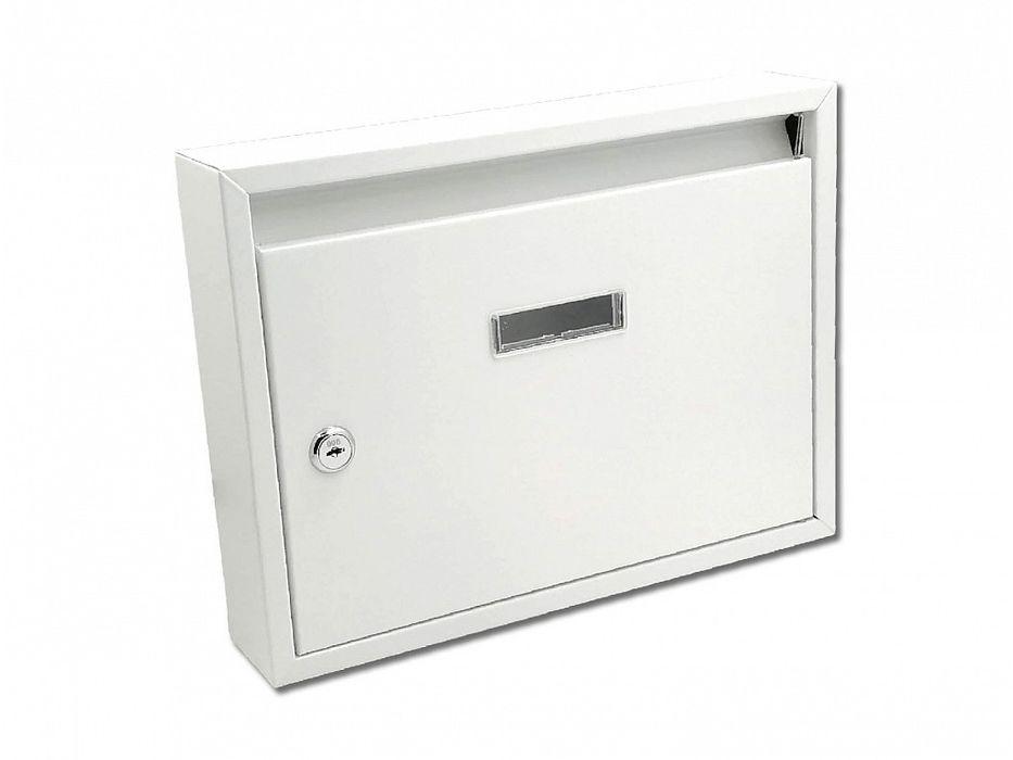 schránka PAVEL bílá pošt. 32x24x6cm, kov