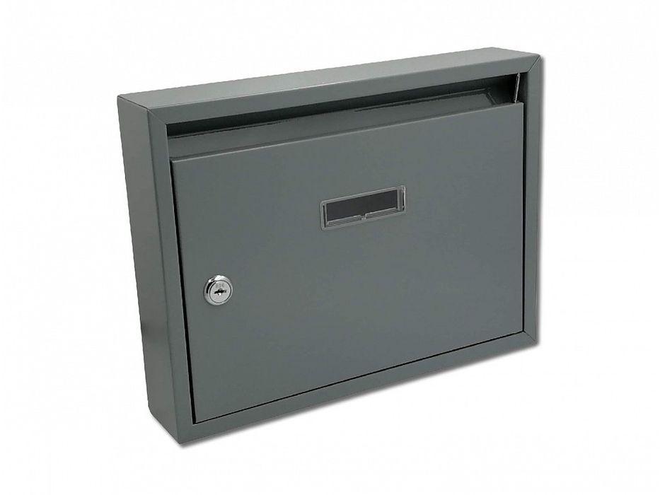 schránka PAVEL šedá pošt. 32x24x6cm, kov