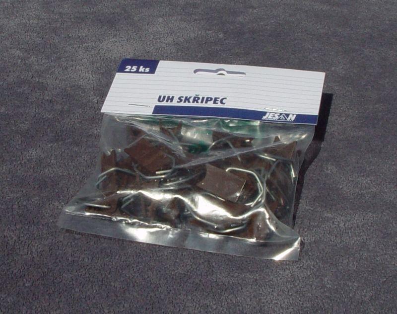 žabka-skřipec zácl.  25ks, B+H, plast
