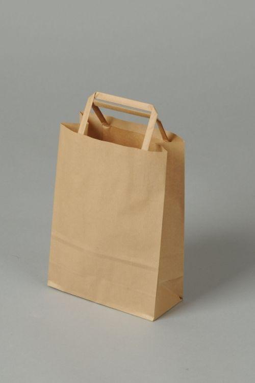 taška papír, 38x26x11cm, EKO, nebarvená