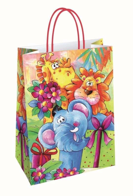 taška dárková M, 26x21x 8cm, ZANZIBAR, dětská