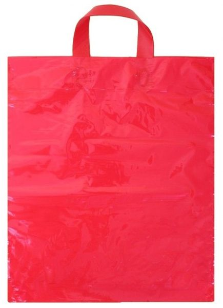 taška PE,   44,5x37,5cm s uchem červená