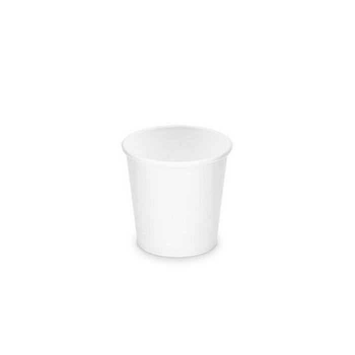 kelímek 1,1dl- 50ks-d62mm, XS-bílý, papírový