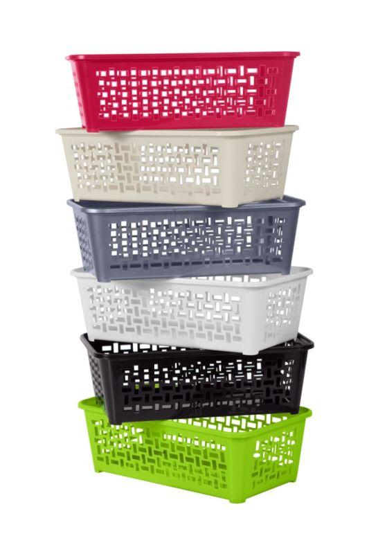 košík DOMINO 2, 24,7x14,8x8,1cm,plast