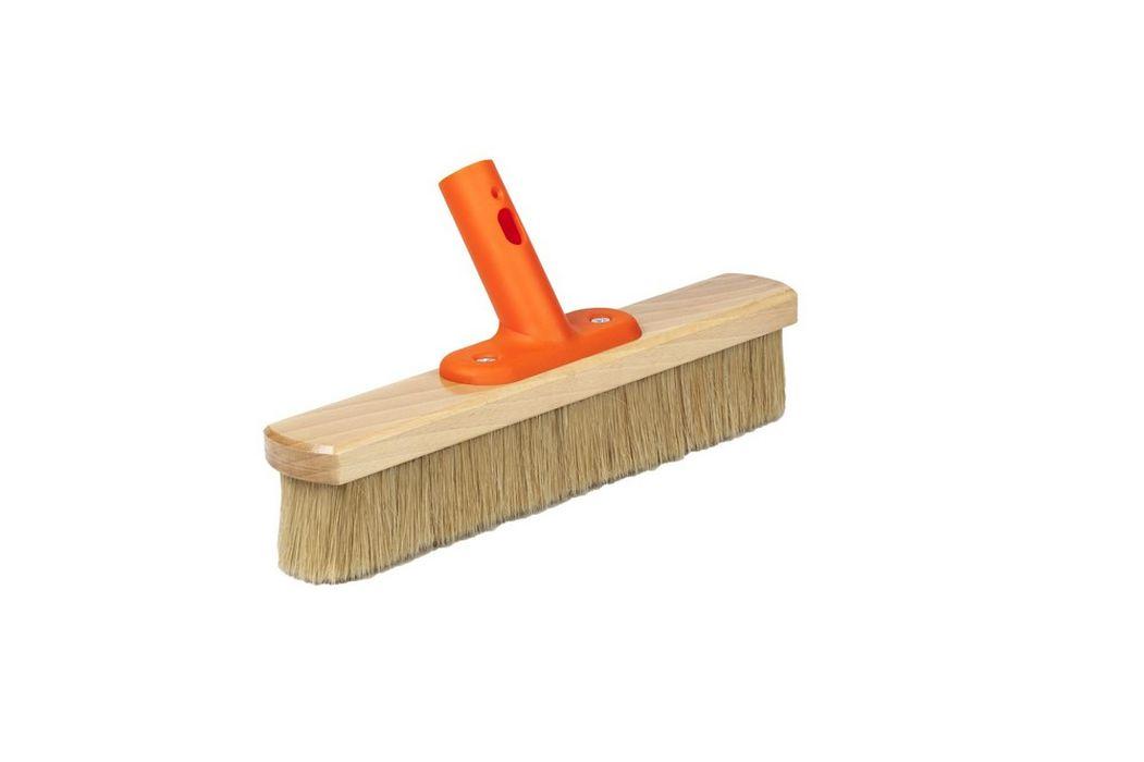 smeták 33cm NATUR, KLIK, dřevo/štětina