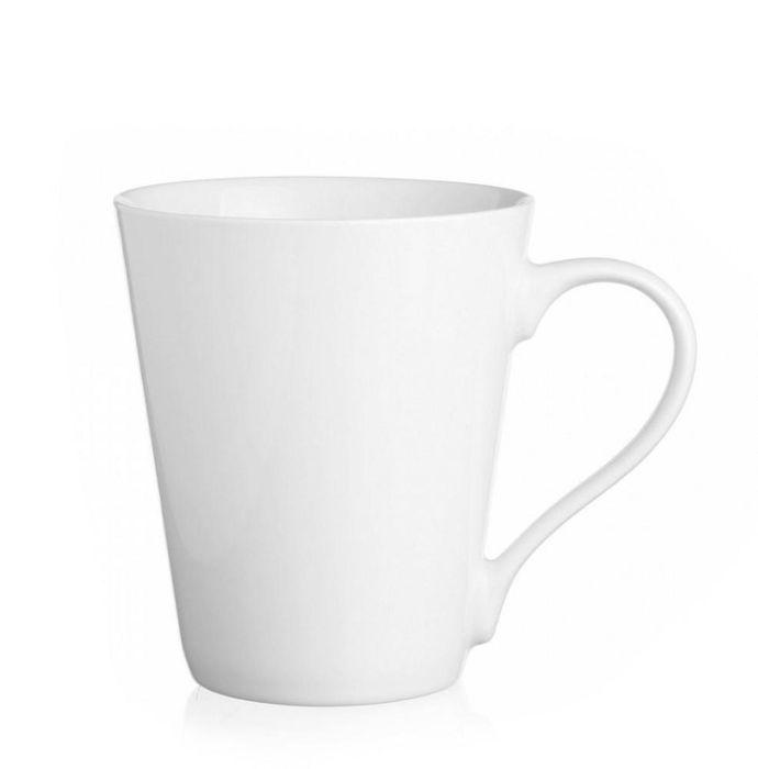 hrnek 250ml MÁJA kónický, bílý porcelán