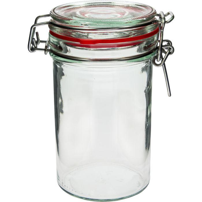 dóza 0,50l sklo SLIM, patent. uzávěr