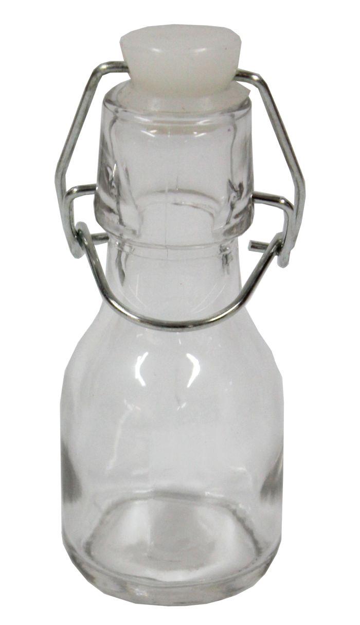 láhev 0,08l (80ml) patentní, sklo