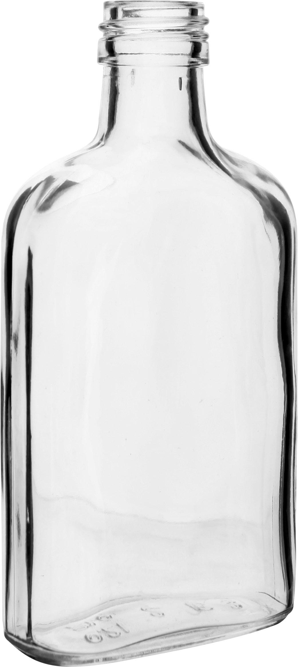 láhev 0,2l PLACATKA, šroubení, sklo