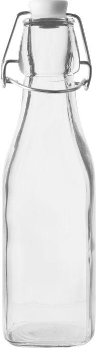 láhev 0,25l patent.uz,hranatá,sklo
