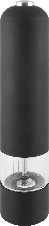 mlýnek na koření/sůl černý, elektr.bateriový