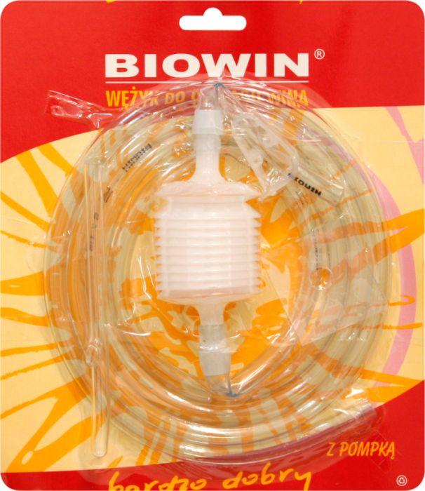 hadička 1,8m+pumpička na stáčení tekutin