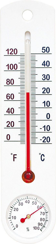 teploměr+vlhkoměr 25x5,5cm univ., -20°C+50°C