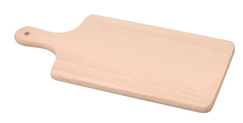 prkénko 41,5x20x1,6cm s ručkou, dřevo