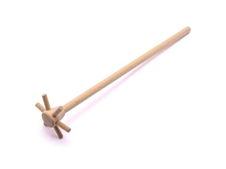 vrtička -kvedlačka, d6,5x28cm, selská, dřevo