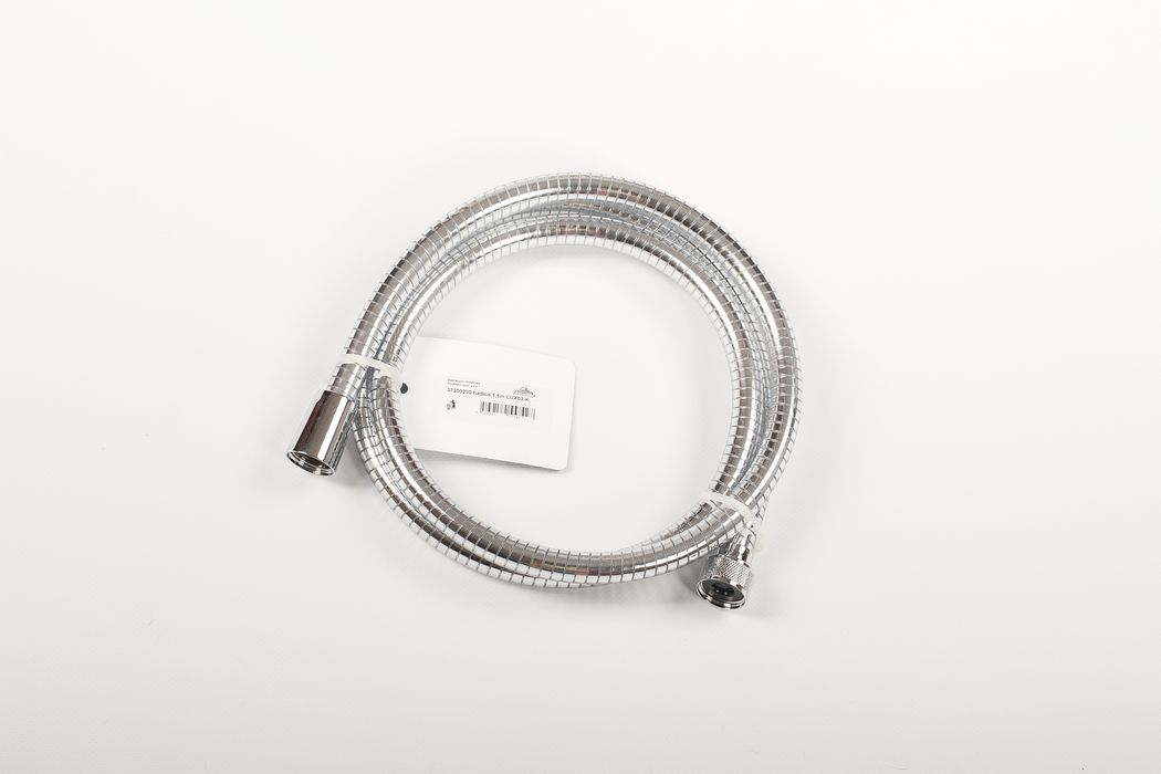 hadice 1,5m LUX03-K, sprchová, plast