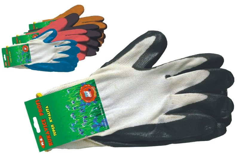 rukavice 1 pár, PROFI, XL, univ.zahradní