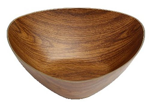 miska trojúhel.24x24x10,5cm, im.DŘEVO