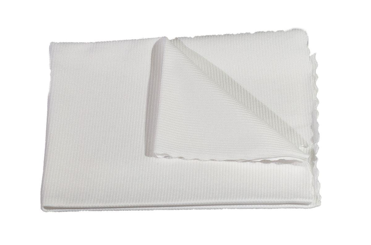 utěrka 40x40cm, WINDOW, 250g/m2, Bílá, mikrovlákno