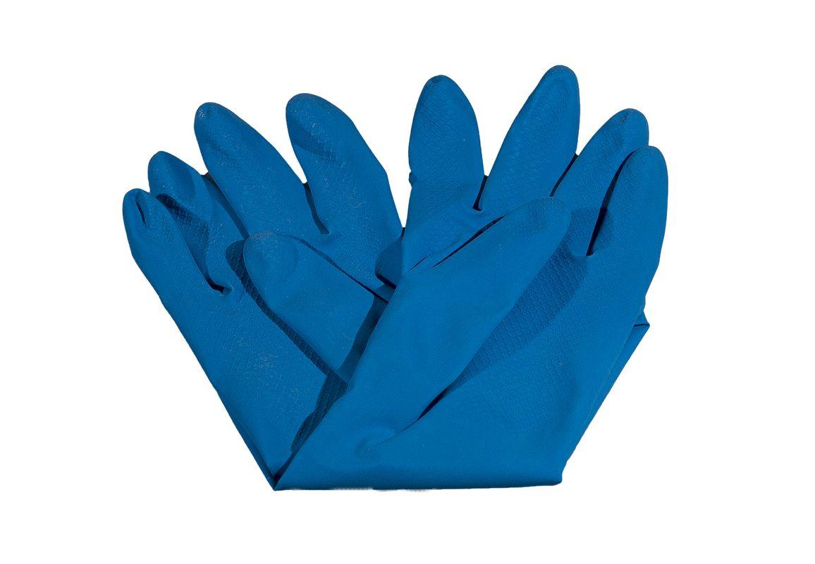 rukavice úklidové LATEX, vel.XL