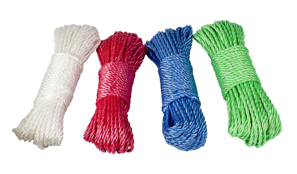 šňůra 20m SILON, pletená, PP, Mix barev