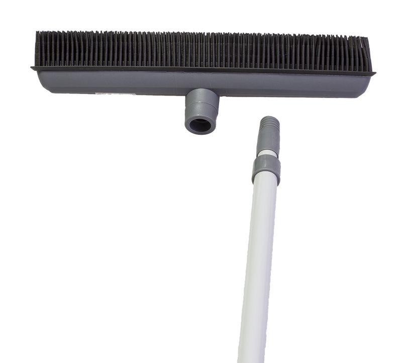 smeták HAIR gum.vlas, telesk.tyč 68-120cm