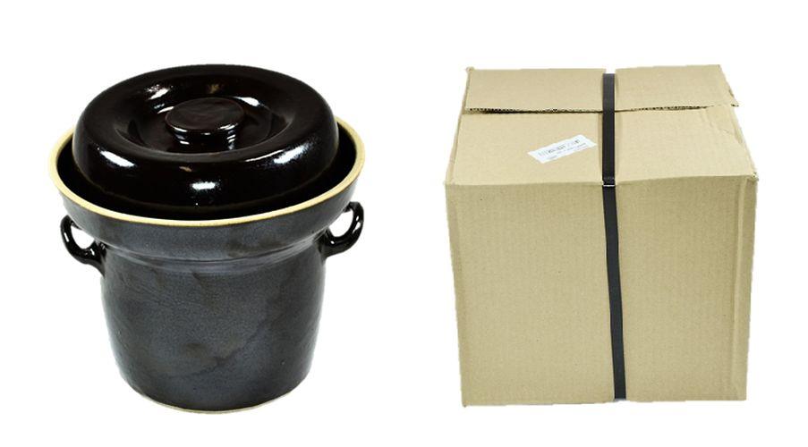 zelák  2l+víko, KART.OBAL, keramika