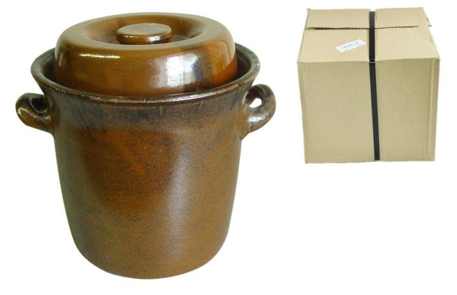 zelák  5l+víko (17,5/19cm), KART.OBAL, keramika