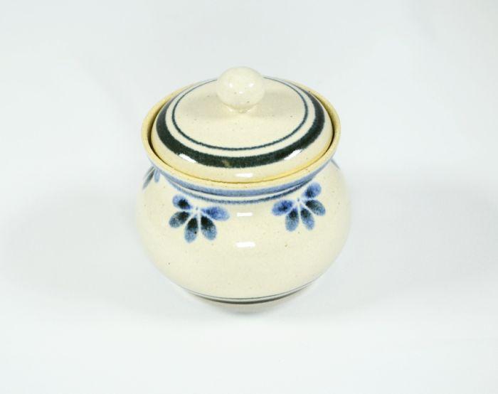 cukřenka DEKOR-modrý, keramika