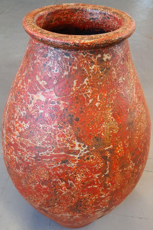váza K 1C oranž 64x21cm, keramika