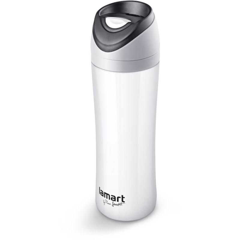 termoska 0,45l s nápitkou, ESPRIT, bílá