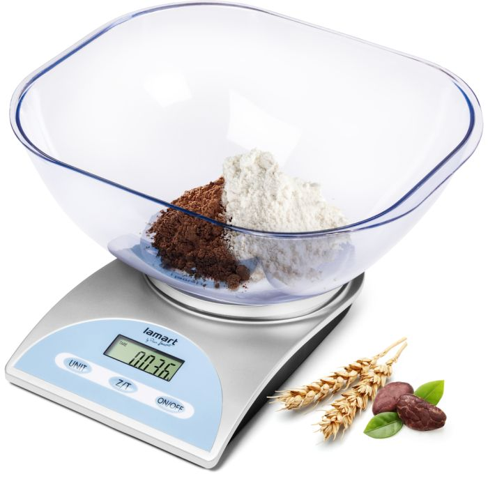 váha  5kg kuch.dig., LAMART, mísa, NR+plast
