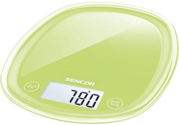 váha  5kg kuch.dig., sv.zelená, SENCOR, 18x22x2,6cm