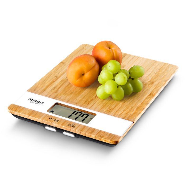 váha  5kg kuch.dig., BAMBOO, LAMART,17x23x2,2cm