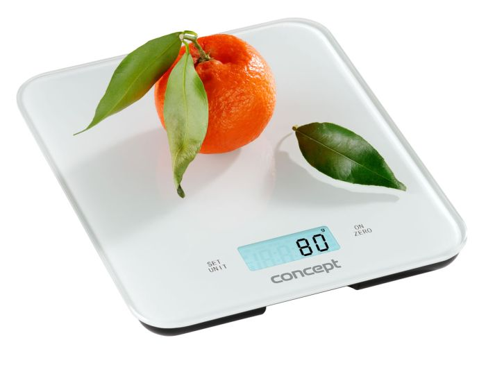 váha 15kg kuch.dig.., bílá, 21,6x17,6cm