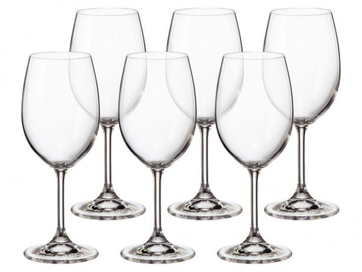 sklen. 350ml, 6ks, KLARA/SYLVIA červ.víno