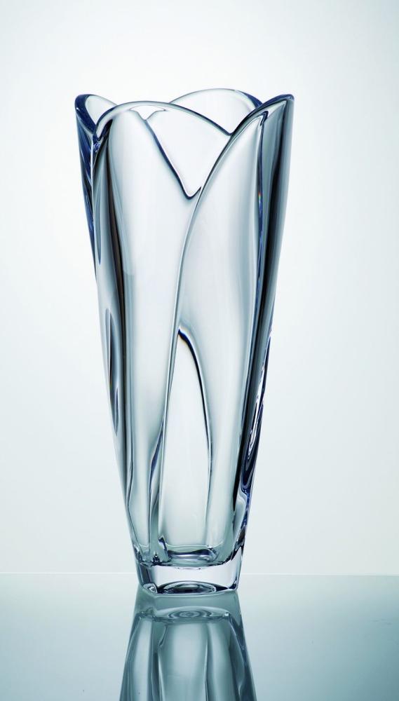váza 35,5cm GLOBUS sklo