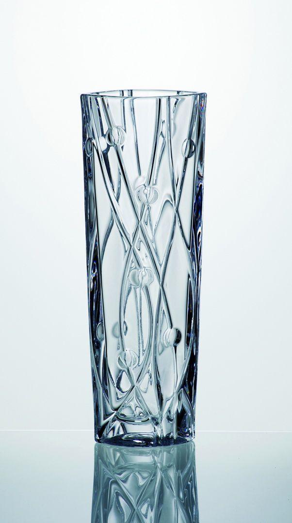 váza 30,5cm LABYRINTH-úzká,sklo
