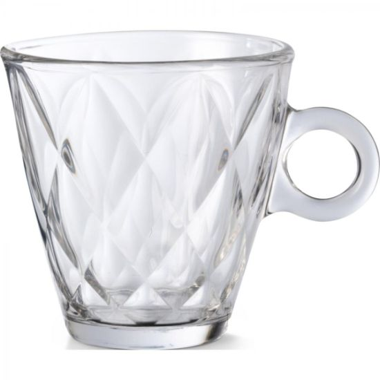 šálek 1ks  220ml KALEIDO, tvr,sklo
