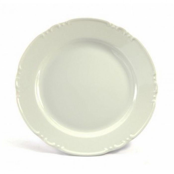 talíř d24cm mělký, CONSTANCE, porcelán