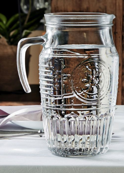 džbán 1,85l ROMANTIC bez víka,sklo