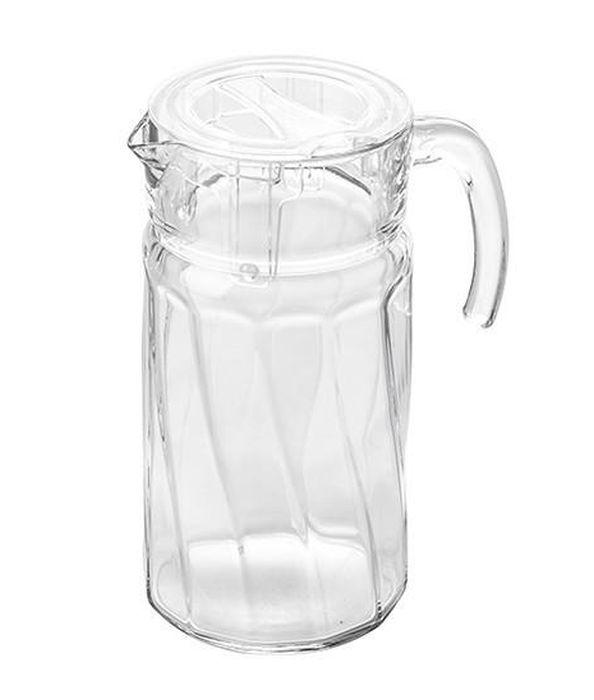 džbán 1,6l Gordion sklo+plast víčko